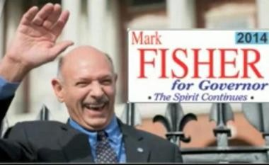 This image is captured from the Mark Fisher for Governor of Massachusetts 2014 video on YouTube.