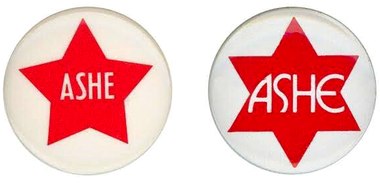 Mike Albano, a former Springfield mayor, worked on Mike Ashe's first campaign for sheriff way back in 1974. Here are some vintage Ashe-for-sheriff pins, which Albano posted to his Facebook page.