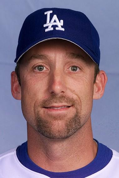 Then-Los Angeles Dodgers pitcher Jeff Shaw is shown on Feb. 23, 2001. (AP Photo/Pablo Martinez Monsivais)