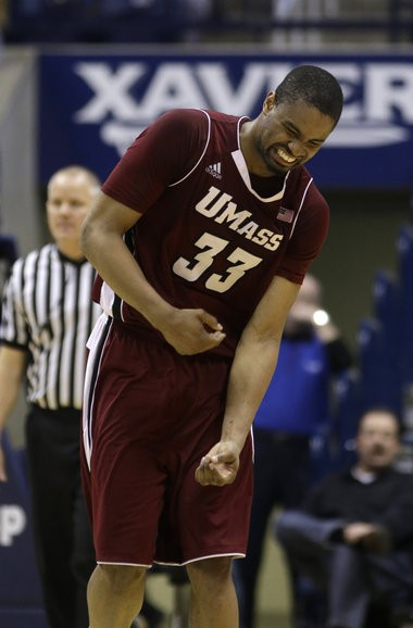 UMass forward Terrell Vinson is the school's all-time leader in starts.