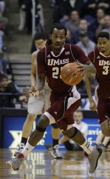 UMass guard Freddie Riley will play his final regular season game at Mullins Center on Thursday night against Butler.
