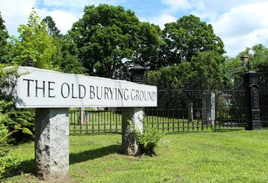 The Old Burying Ground is pictured June 26 in Westfield.
