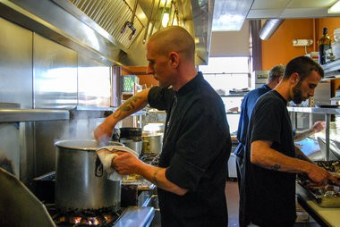 Chef Justin Mosher.