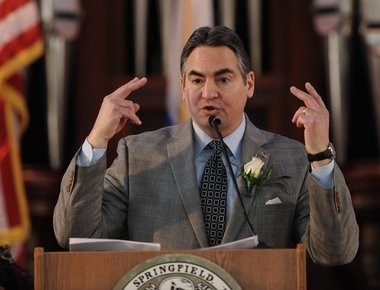 "Springfield Mayor Domenic J. Sarno wants to develop an ""eclectic"" mix in the heart of his city, a mix that includes higher education."