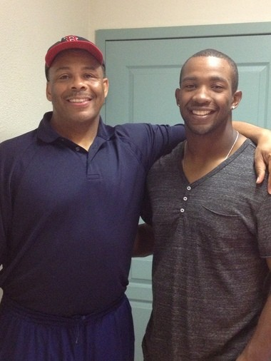 Foster Jacobs, a 1979 Putnam Vocational graduate and basketball star, is rightfully proud of his son Brandon, who is an outfielder in the Red Sox organization.