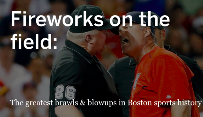 Ranking the greatest brawls, ejections & blowups in Boston
