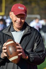 Ed Modzelewski was quarterback for the 1957 Agawam High School championship team.