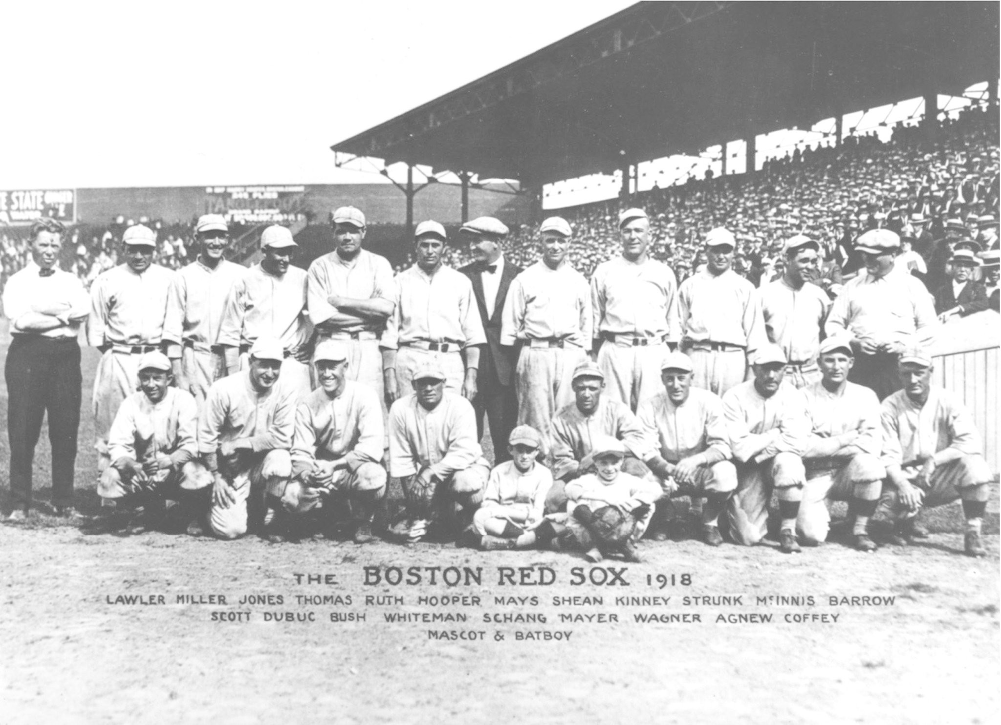 Red Sox Mark 100th Anniversary Of A War Time World Series