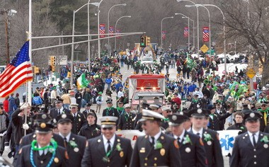 The 2014 Holyoke St. Patrick's Parade steps off on March 23.