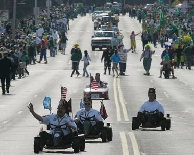 The Melha Shriners will once again take part in the annual Holyoke St. Patrick's Parade. (The Republican)