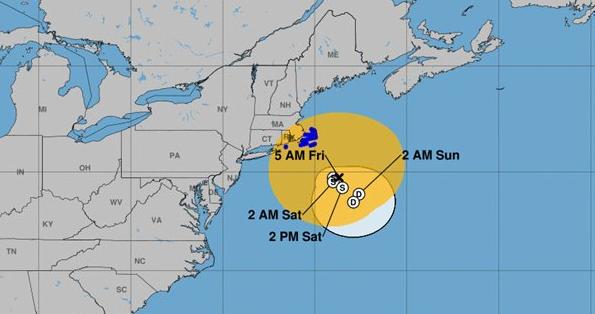Jose to continue to weaken off Massachusetts coast as 90