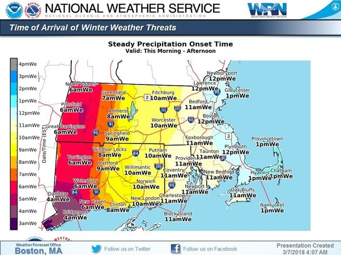 What to know about the snowy, rainy, gusty nor'easter in
