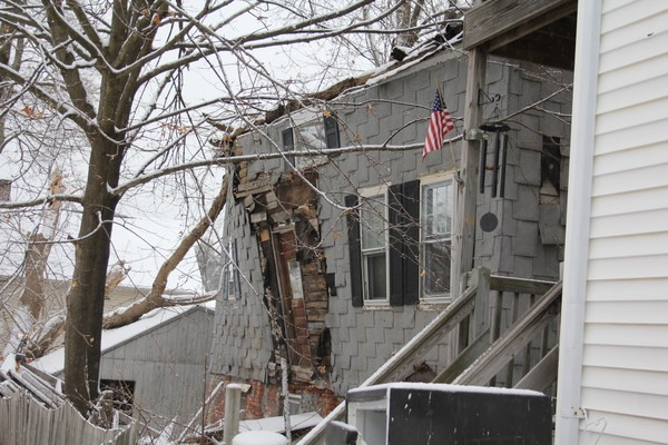 """33 Vigeant St. in Ware is among the properties noted in the Pioneer Valley Planning Commission's report that recommended that selectmen designate the greater downtown area a """"slum and blighted"""" district as a way to improve their chances to obtain government revitalization grants"""