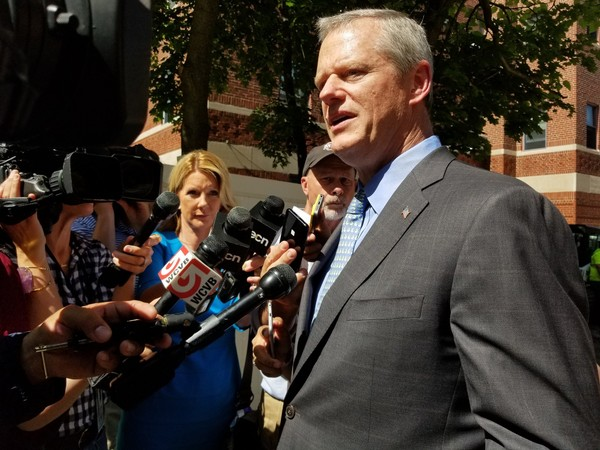 Massachusetts Gov. Charlie Baker reports a $1 billion budget surplus from fiscal 2018, which ended June 30.