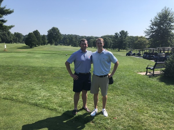 Pat Pio III and Mark Mitchell won their fourth Henry Bontempo Four-Ball title Monday at Franconia Golf Course in Springfield.