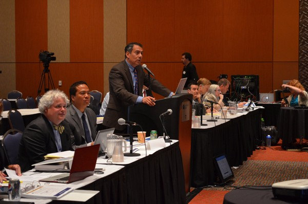 MGM Resorts International's financial situation and the revenue projections for its proposed Springfield casino were rated positively on Tuesday by the Massachusetts Gaming Commission's Enrique Zuniga, as the five-member board presented on various aspects of the casino plan.