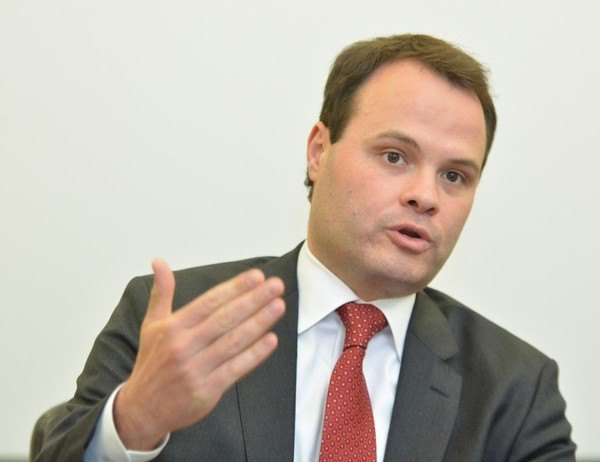 State Senator Eric Lesser meets with The Republican/MassLive editorial board recently.
