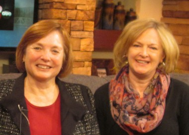 Deb Moore, left, and Betty Epperly