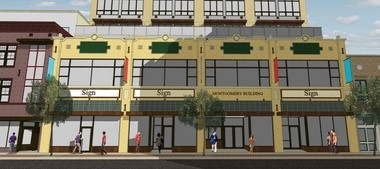 Tiles from Motawi TIleworks would be incorporated into the new facade of the building at 210-216 S. Fourth Ave.