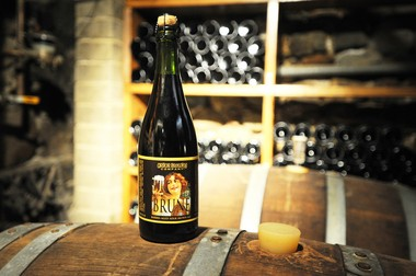 Arbor Brewing Company's Brune, a barrel-aged sour brown ale.