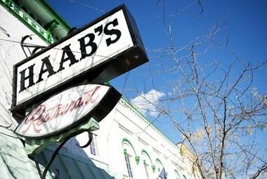 Haab's Restaurant at 18 W. Michigan Ave.