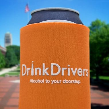 DrinkDrivers is a new alcohol delivery services that allows customers to order alcohol online and have it brought to their doorstep.