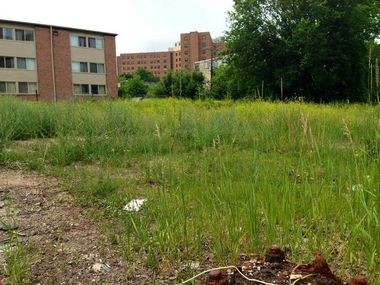 It's unclear what's next for the half-acre development site on Glen Avenue between Catherine and Ann streets.