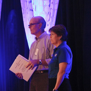 Steve Dobson and Susan Martin are co-chairs for the 2014 United Way of Washtenaw County fundraising campaign.