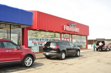 Customers flocked to the Ann Arbor Naked Furniture store during its bankruptcy sale. Merchandise is currently marked down more than 50 percent.