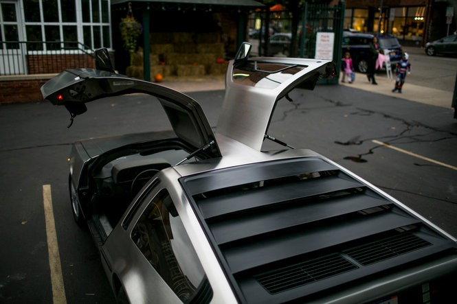 A DeLorean DMC-12 in Ann Arbor, Michigan. Dominic Valente | The Ann Arbor News