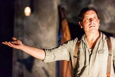 "John Manfredi starred in ""An Iliad"" at Performance Network."