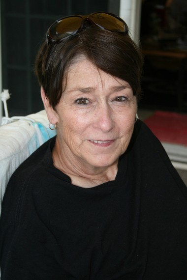 Thompson's Pizzeria owner Lynda Collins.