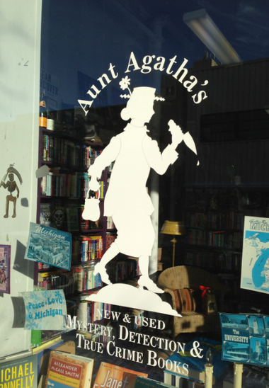Specialty bookstore Aunt Agatha's, in Ann Arbor, won the Mystery Writers of America's 2014 Raven Award.