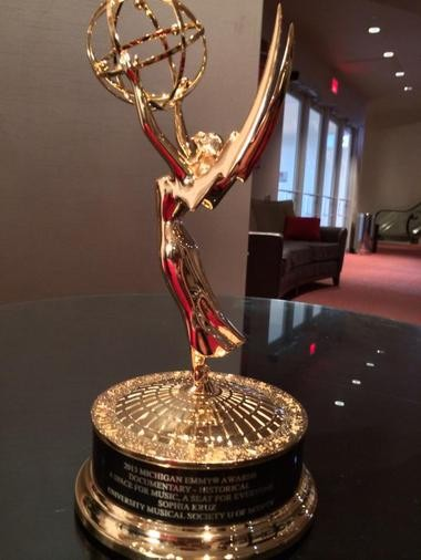 A documentary that chronicles the 100 year history of Hill Auditorium won a Michigan Emmy Award on June 14, 2014.