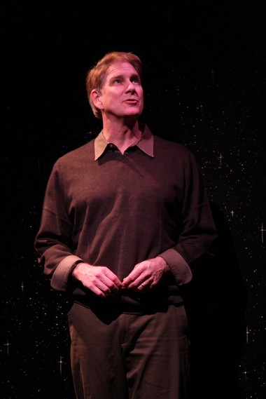 "John Lepard stars in ""This Wonderful Life"" at Performance Network Theatre."