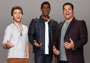 "Saline's Sean Panikkar, center, with Forte, a group competing on ""America's Got Talent."""