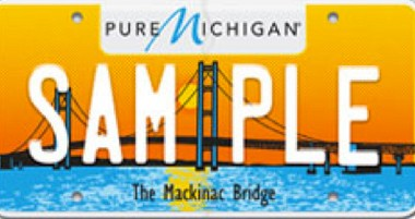 The Mackinac Bridge license plate was named the Automobile License Plate Collectors Association's world's best new plate award.