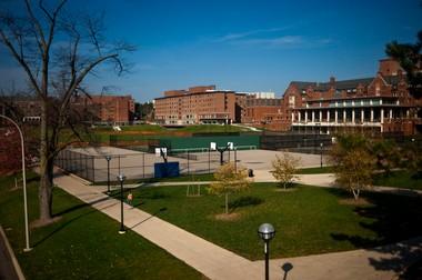 University of Michigan's campus