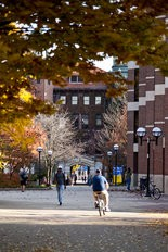 The Denison Archway on the Central Campus of the University of Michigan.