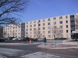 The EMU First Year Center, of which Putnam Residence Hall is a part.