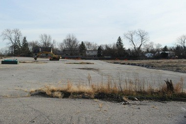 The former Georgetown Mall location on November 20, 2013.