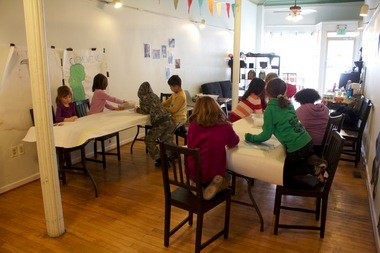 The FLY Children's Center helps expand art offerings for children across southeast Michigan.