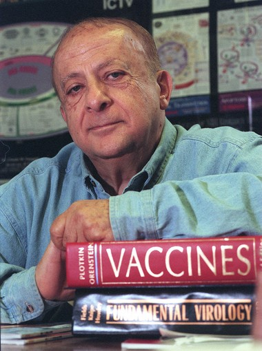 Hunein Maassab worked for more than 40 years to develop the nasal-spray flu vaccine.