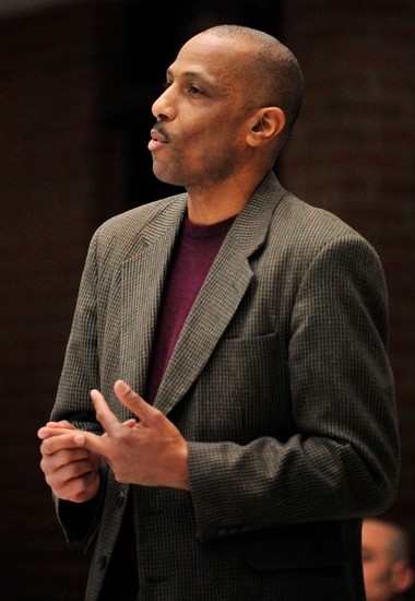 Bryson speaks out at a City Council meeting in January, calling for a ban on fracking.
