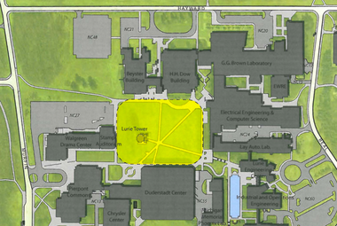 University Of Michigan S North Campus To Receive 6 9m Outdoor