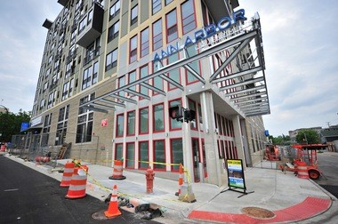 The Ann Arbor City Apartments project is expected to wrap up this summer.