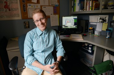 New Washtenaw County Public Health HIV Prevention specialist Heather Wolf previously worked with the HIV/AIDS Resource Center.