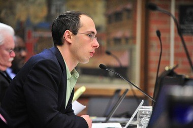 City Council Member Chuck Warpehoski, D-5th Ward.
