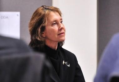 Ann Arbor DDA Director Susan Pollay.