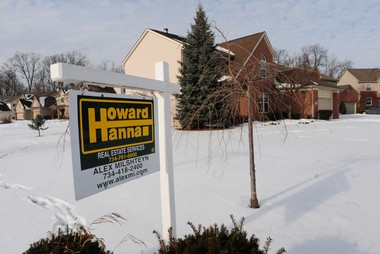Howard Hanna Real Estate Services advertises a house for sale at 183 Wild Ivy Ct, Ann Arbor. Property values in the city went up an average of 9.33 percent from 2014 to 2015.